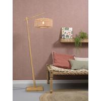 thumb-Vloerlamp BROMO bamboe naturel met lampenkap in 2 maten-4