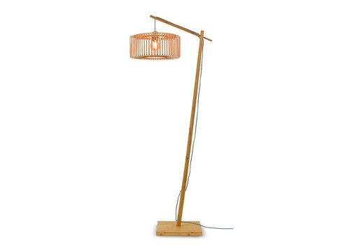 Vloerlamp Bromo bamboe naturel