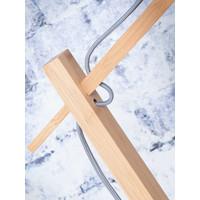 thumb-Vloerlamp BROMO bamboe naturel met lampenkap in 2 maten-9