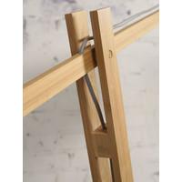 thumb-Vloerlamp BROMO bamboe naturel XL verstelbaar-4