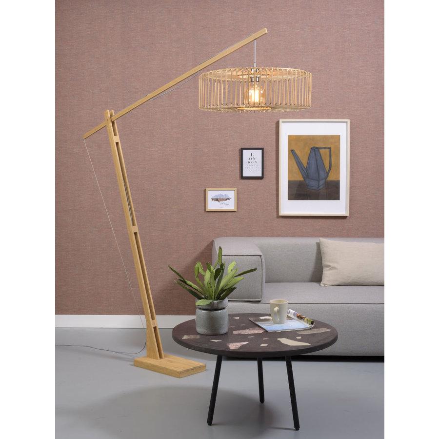 Vloerlamp BROMO bamboe naturel XL verstelbaar-2