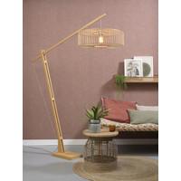 thumb-Vloerlamp BROMO bamboe naturel XL verstelbaar-3
