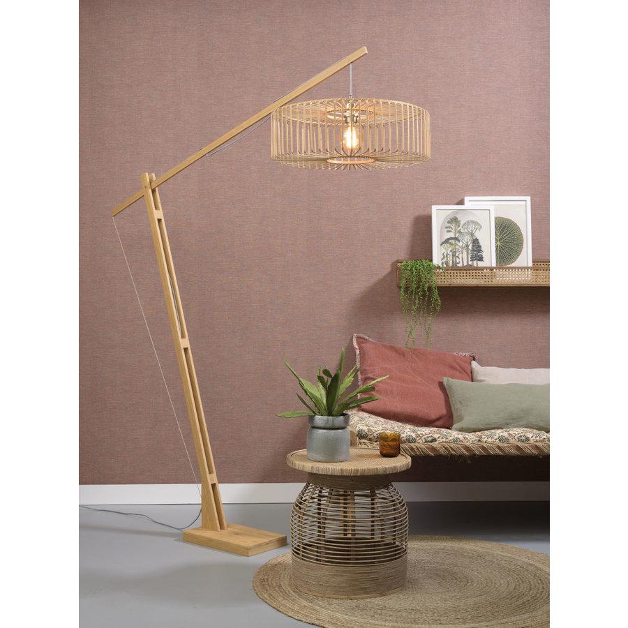 Vloerlamp BROMO bamboe naturel XL verstelbaar-3