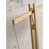 thumb-Vloerlamp BROMO bamboe naturel XL verstelbaar-8