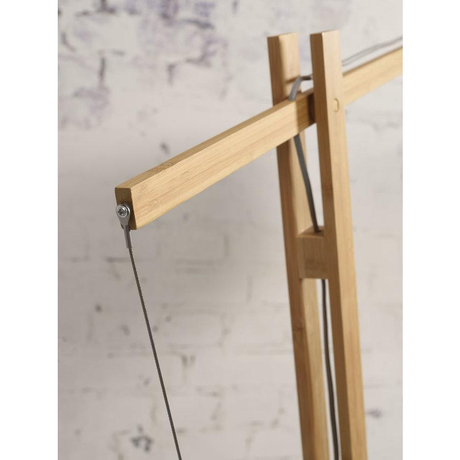 Vloerlamp BROMO bamboe naturel XL verstelbaar-8
