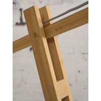 thumb-Vloerlamp BROMO bamboe naturel XL verstelbaar-9