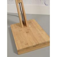 thumb-Vloerlamp BROMO bamboe naturel XL verstelbaar-10