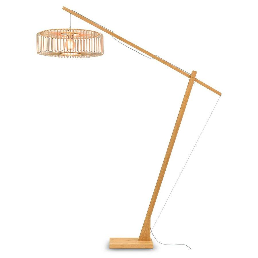 Vloerlamp BROMO bamboe naturel XL verstelbaar-1