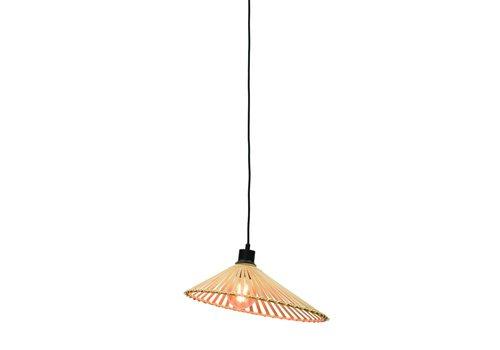 Hanglamp Bromo bamboe asymmetrisch