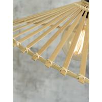 thumb-Plafonnière BROMO bamboe naturel asymmetrisch in 3 maten-5