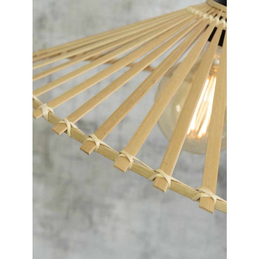 Plafonnière BROMO bamboe naturel asymmetrisch in 3 maten-5