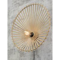 thumb-Wandlamp BROMO bamboe naturel asymmetrisch in 3 maten-4