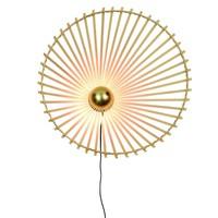 thumb-Wandlamp BROMO bamboe naturel asymmetrisch in 3 maten-9