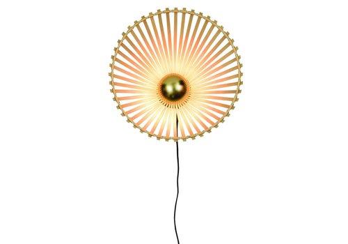 Wandlamp Bromo bamboe asymmetrisch