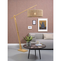 thumb-Vloerlamp IGUAZU naturel verstelbaar-4