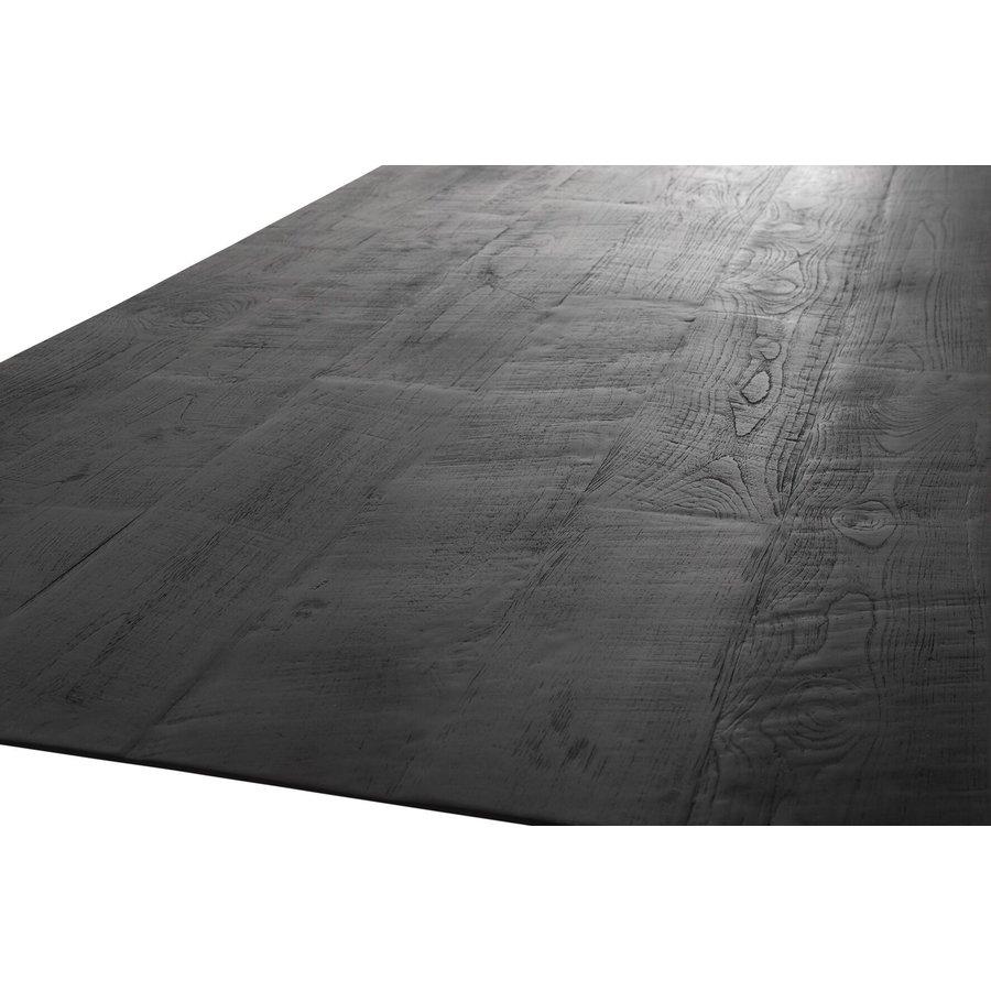 Eettafel Timeless Black Shape, langwerpig-4