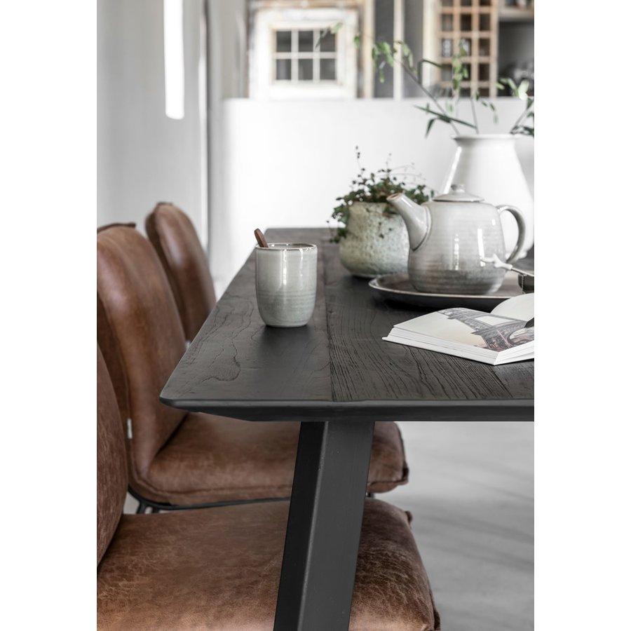 Eettafel Timeless Black Shape, langwerpig-5