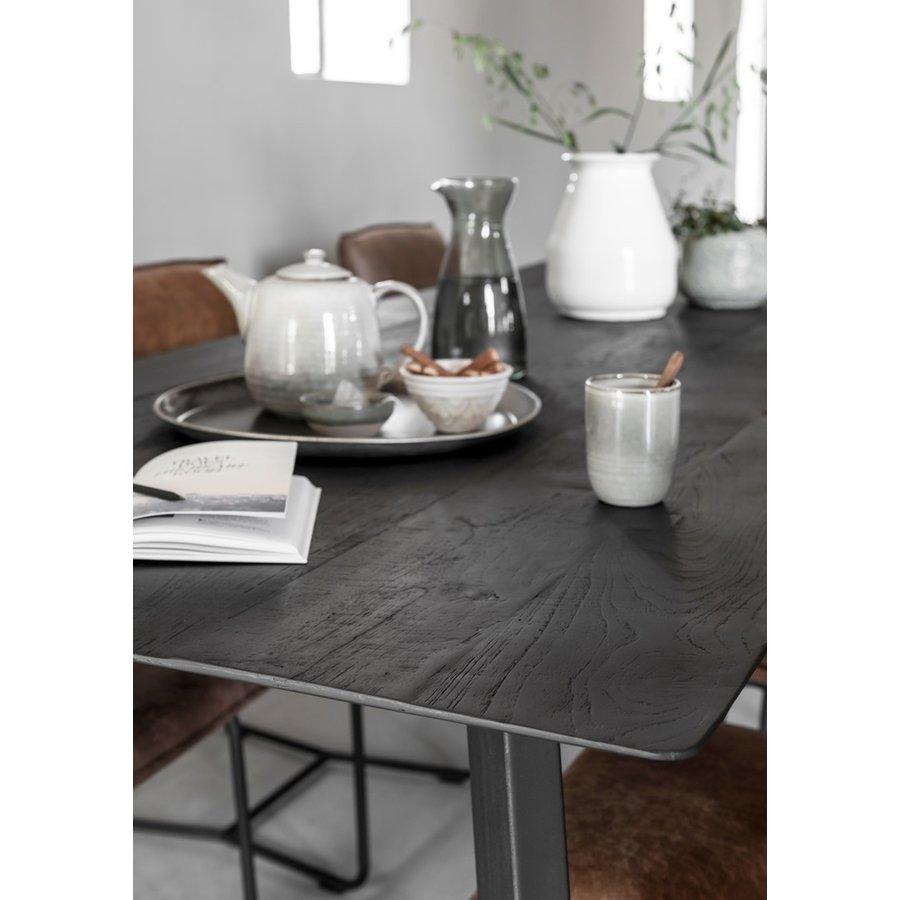 Eettafel Timeless Black Shape, langwerpig-6