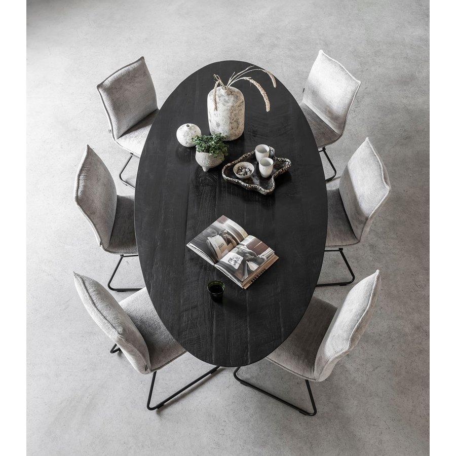 Eettafel Timeless Black Shape, Ovaal-7