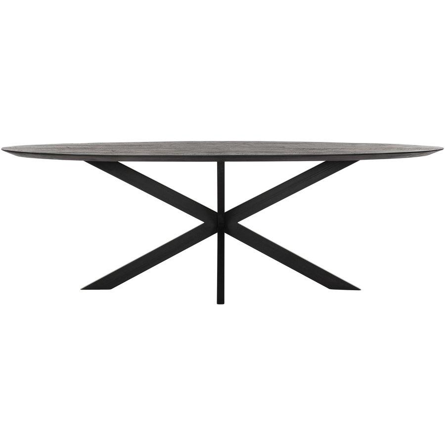 Eettafel Timeless Black Shape, Ovaal-4