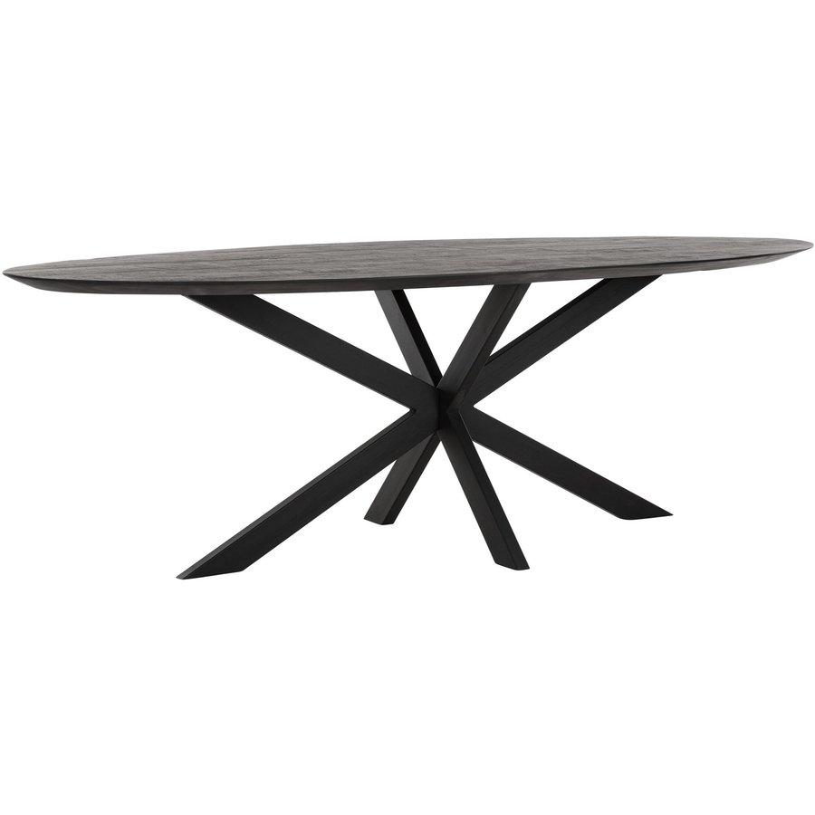 Eettafel Timeless Black Shape, Ovaal-2