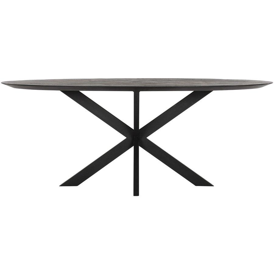 Eettafel Timeless Black Shape, Ovaal-6