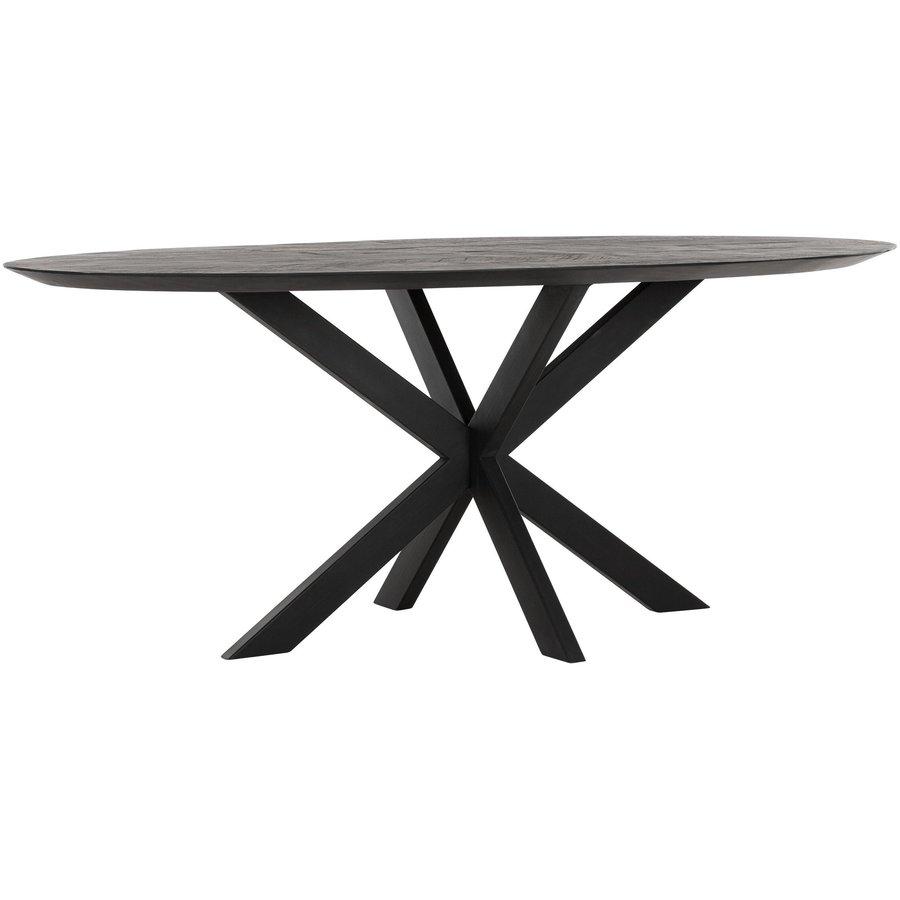 Eettafel Timeless Black Shape, Ovaal-1