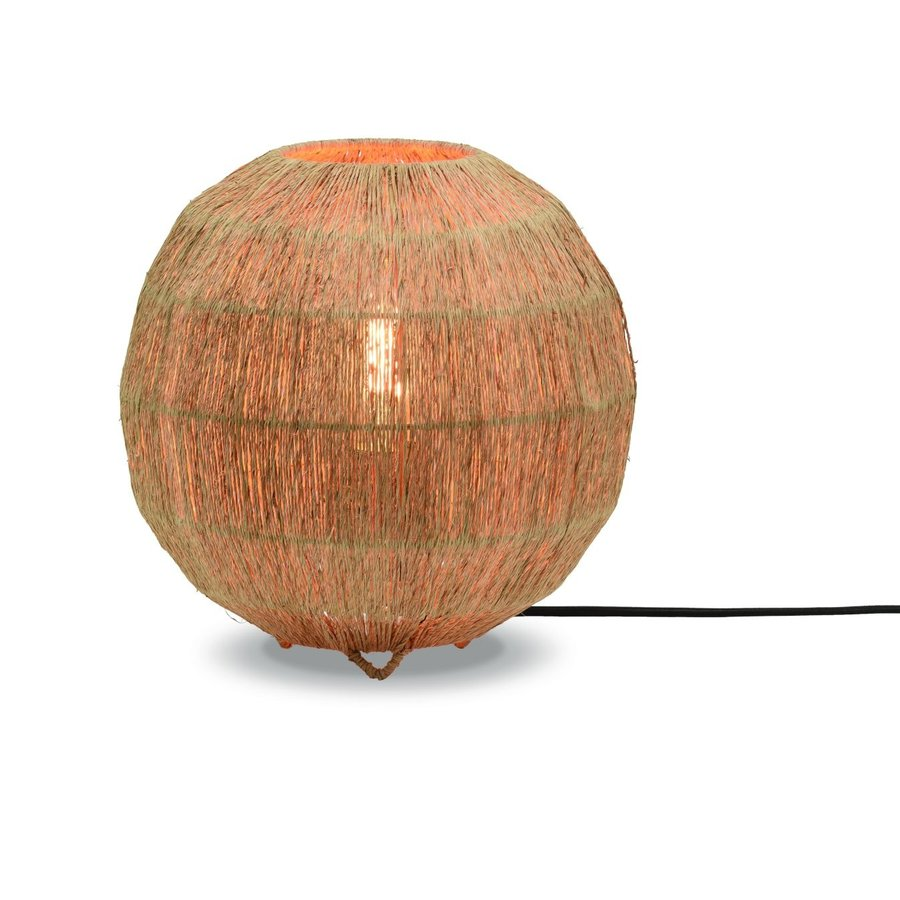 Tafellamp IGUAZU jute globe-1