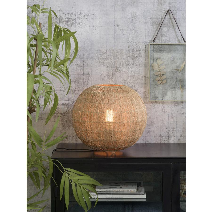 Tafellamp IGUAZU jute globe-4