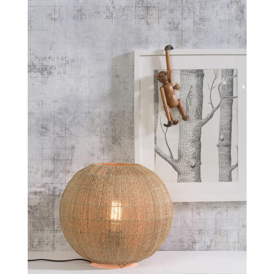 Tafellamp IGUAZU jute globe-6