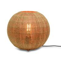 thumb-Tafellamp IGUAZU jute globe-2