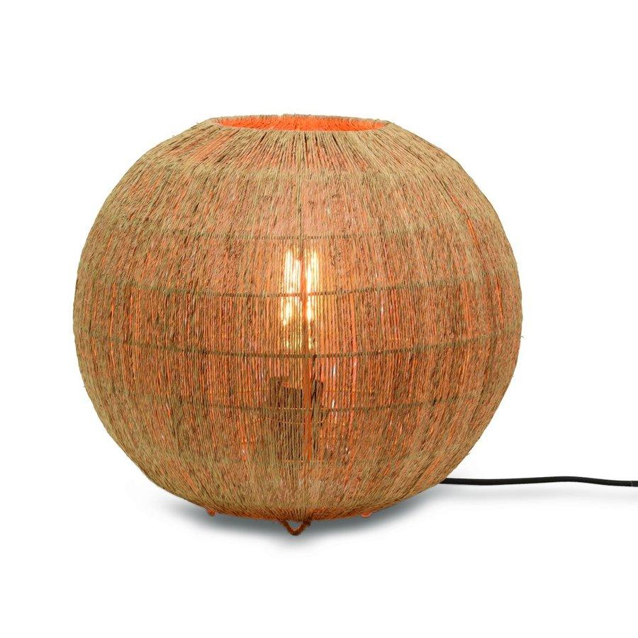 Tafellamp IGUAZU jute globe-2