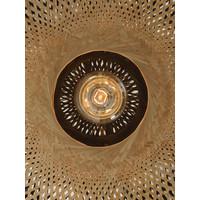thumb-Plafondlamp Kalimantan Bamboo flat in 3 maten-8