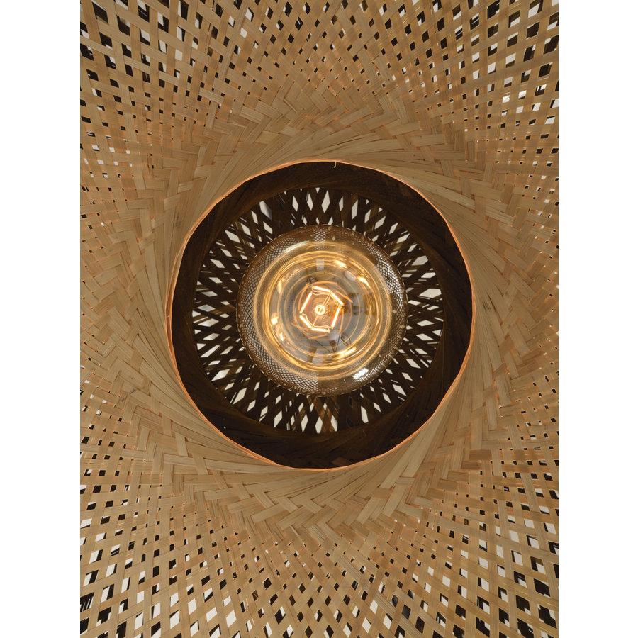Plafondlamp Kalimantan Bamboo flat in 3 maten-8