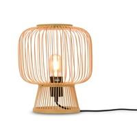 thumb-Tafellamp CANGO in bamboe zwart of naturel-1