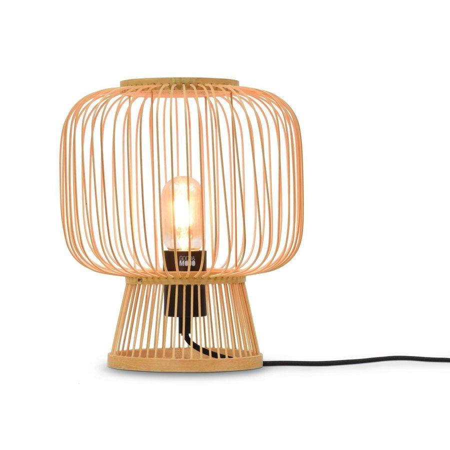Tafellamp CANGO in bamboe zwart of naturel-1