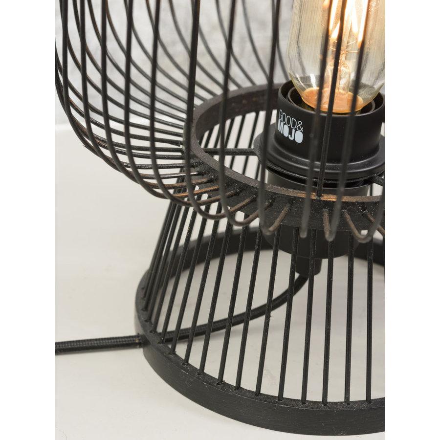 Tafellamp CANGO in bamboe zwart of naturel-7