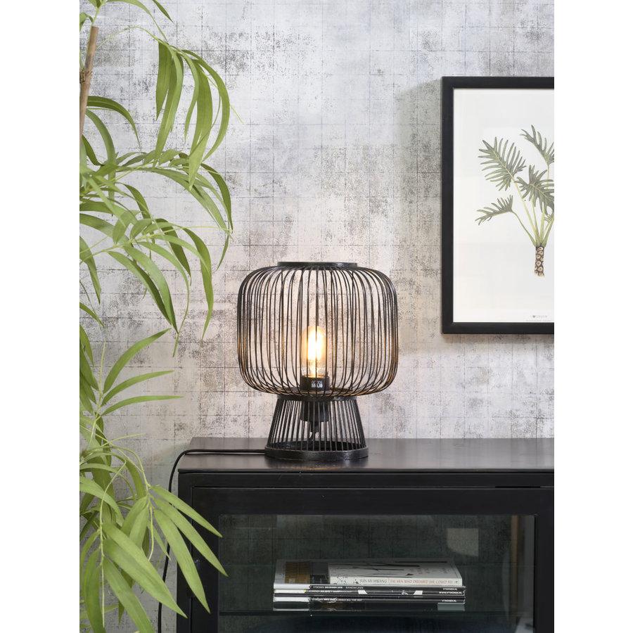 Tafellamp CANGO in bamboe zwart of naturel-6