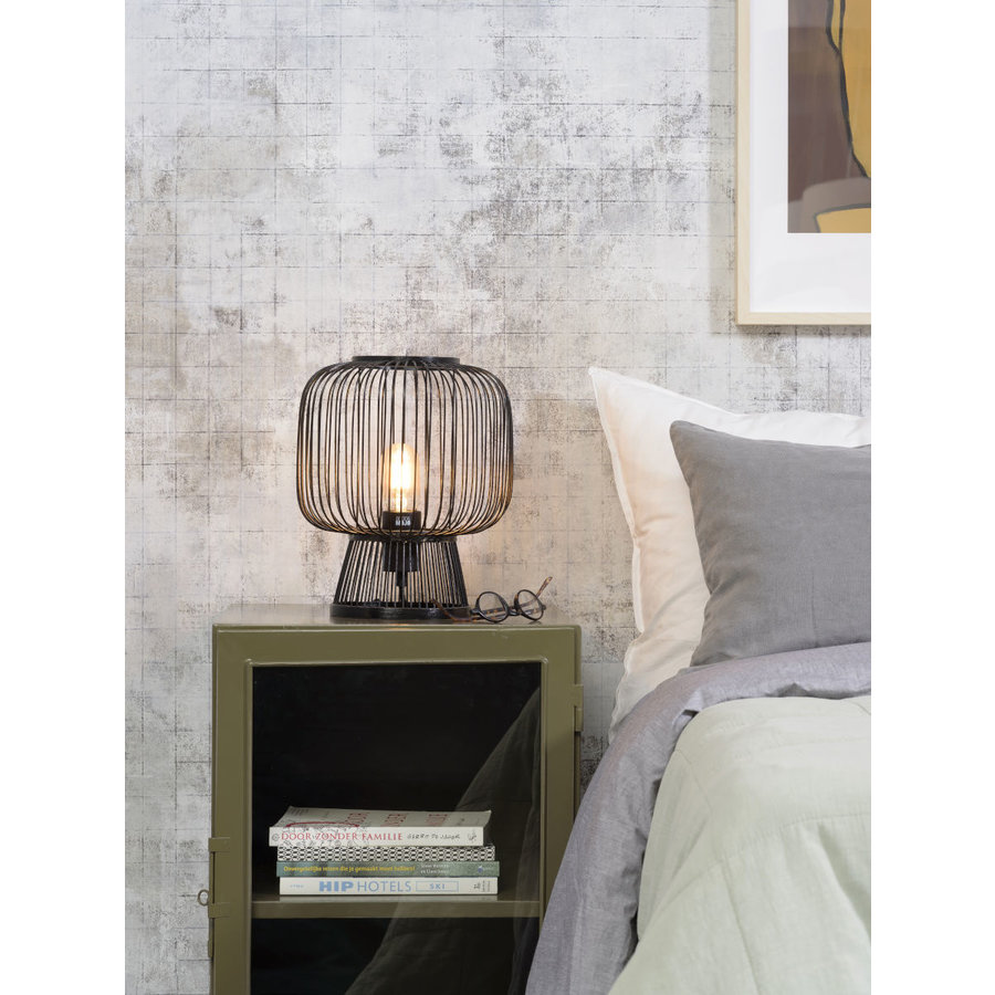 Tafellamp CANGO in bamboe zwart of naturel-4