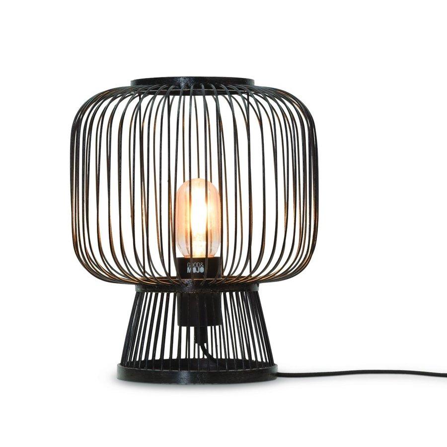 Tafellamp CANGO in bamboe zwart of naturel-2