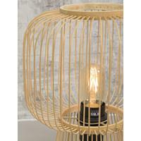 thumb-Tafellamp CANGO in bamboe zwart of naturel-10