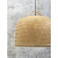 thumb-Hanglamp SERENGETIE bamboe naturel met ronde lampenkap in 2 maten-10