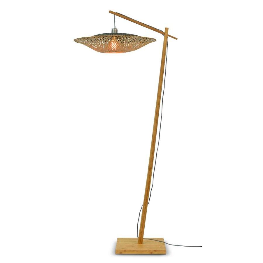 Vloerlamp KALIMANTAN met vaste arm-4