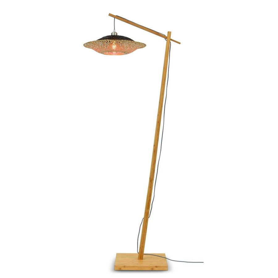 Vloerlamp KALIMANTAN met vaste arm-2