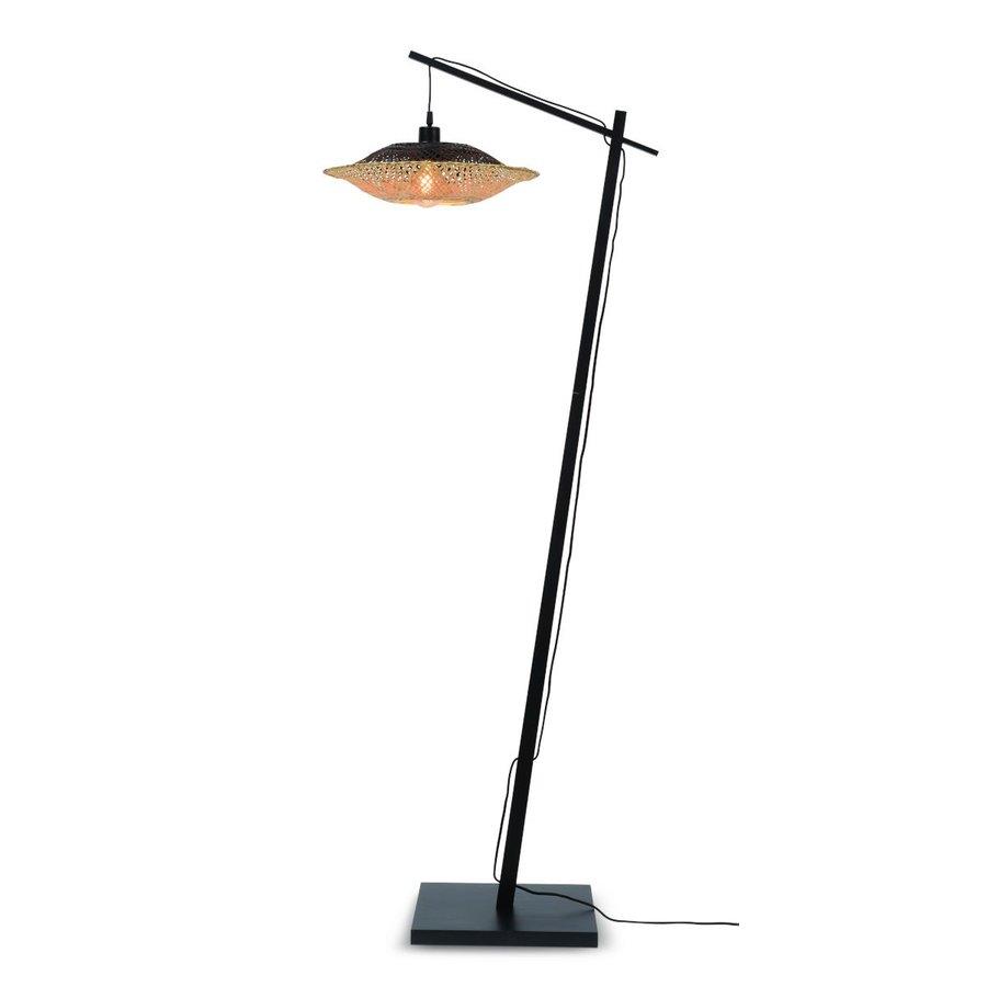 Vloerlamp KALIMANTAN met vaste arm-1
