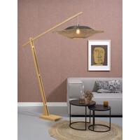 thumb-Vloerlamp KALIMANTAN naturel verstelbaar-5