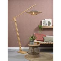 thumb-Vloerlamp KALIMANTAN naturel verstelbaar-4