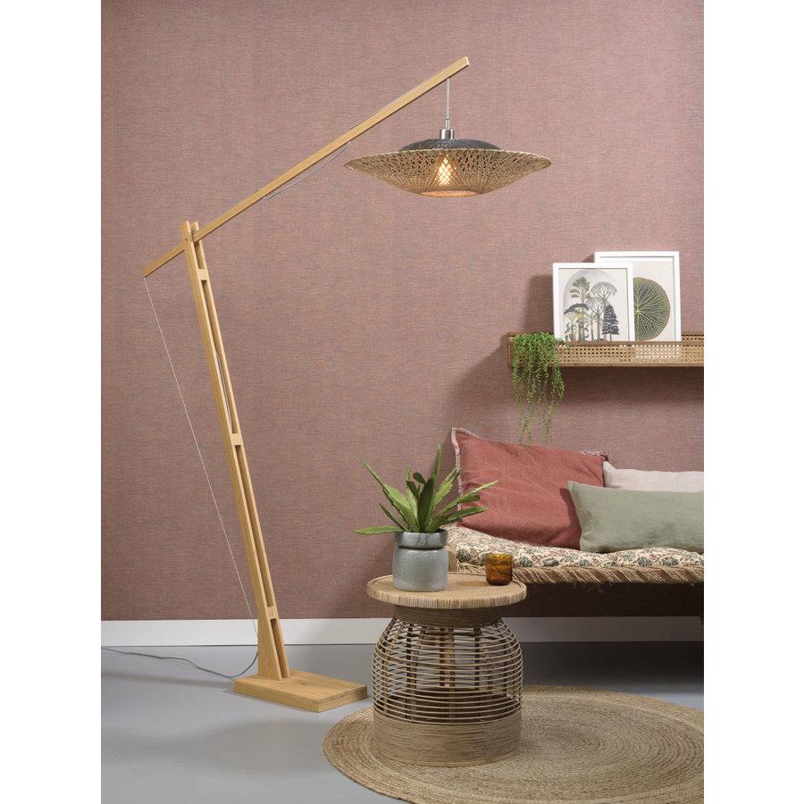 Vloerlamp KALIMANTAN naturel verstelbaar-4