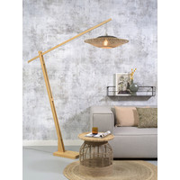 thumb-Vloerlamp KALIMANTAN naturel verstelbaar-3