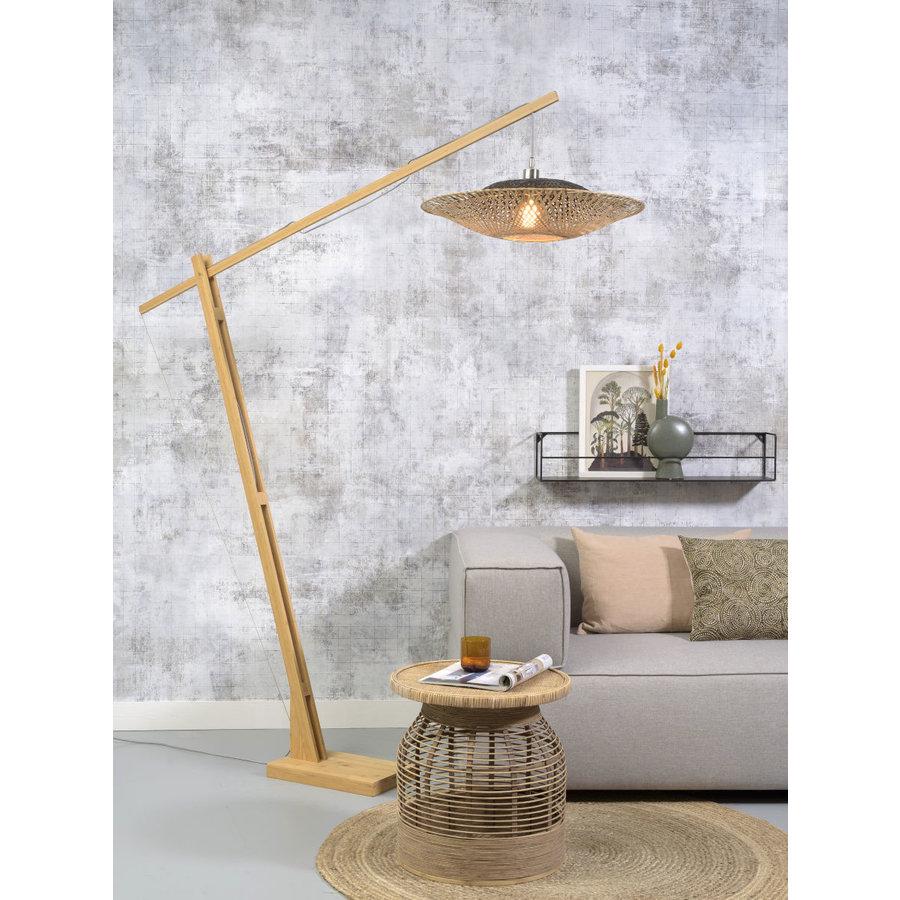 Vloerlamp KALIMANTAN naturel verstelbaar-3